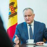 Додон: Жаль, что приднестровцы выбрали своими представителями в парламенте людей, которых они никогда не видели и не знали (ВИДЕО)