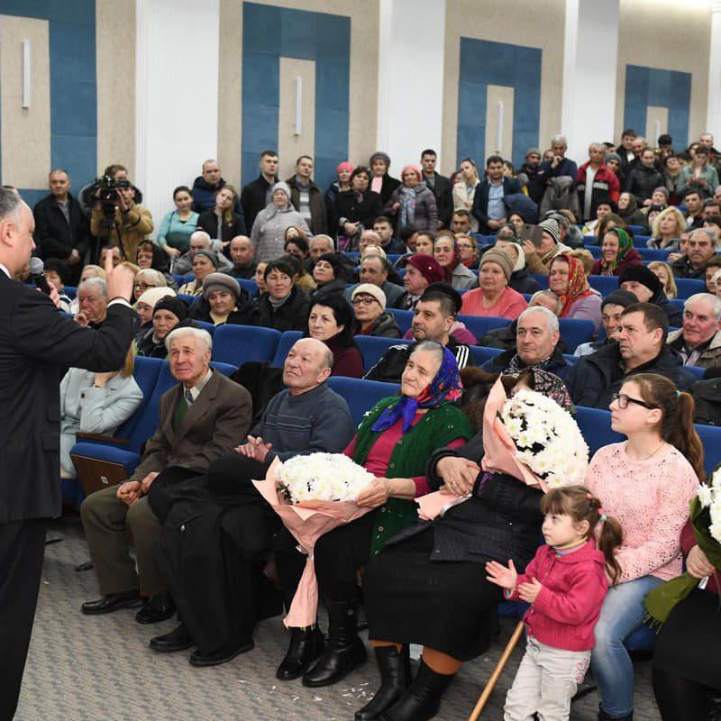 Встреча с Додоном в Комрате: зал не смог вместить всех желающих (ФОТО, ВИДЕО)