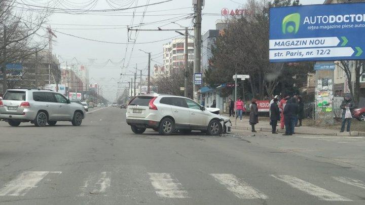 ДТП на Буюканах: иномарка серьёзно пострадала