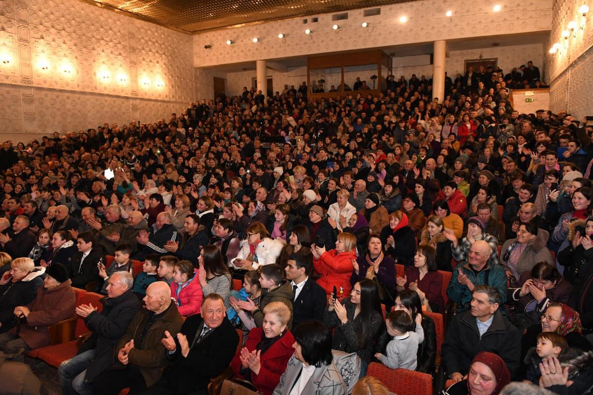 Встреча с президентом прошла в переполненном зале и в Чадыр-Лунге (ВИДЕО, ФОТО)