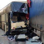 На Украине автобус Москва-Тирасполь столкнулся с фурой: скончался гражданин Молдовы (ФОТО)