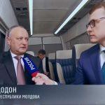 "Додон на ""Россия 1"": Без РФ Молдова не выживет (ВИДЕО)"