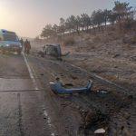 Серьёзное ДТП под Бельцами: машина перевернулась несколько раз, пострадали три человека (ФОТО)