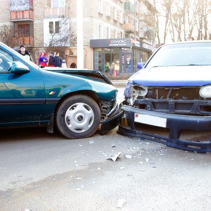 ДТП в центре Тирасполя с участием 4 машин парализовало движение транспорта