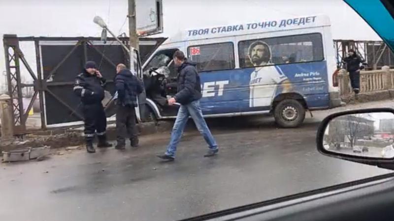 Полиция опубликовала видео с места вчерашней аварии на Измаильском мосту