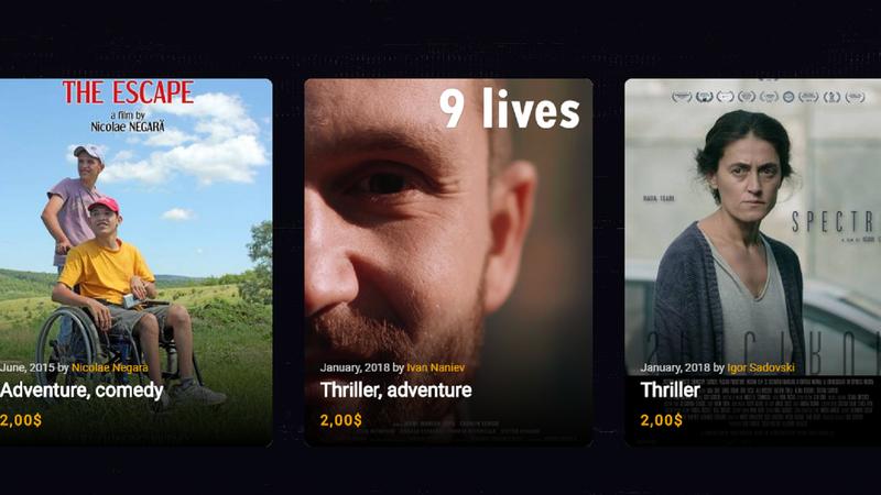 Запущен сайт, где можно посмотреть молдавское кино всего за два доллара в день