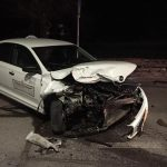 ДТП с участием машины такси произошло минувшей ночью в столице (ФОТО)