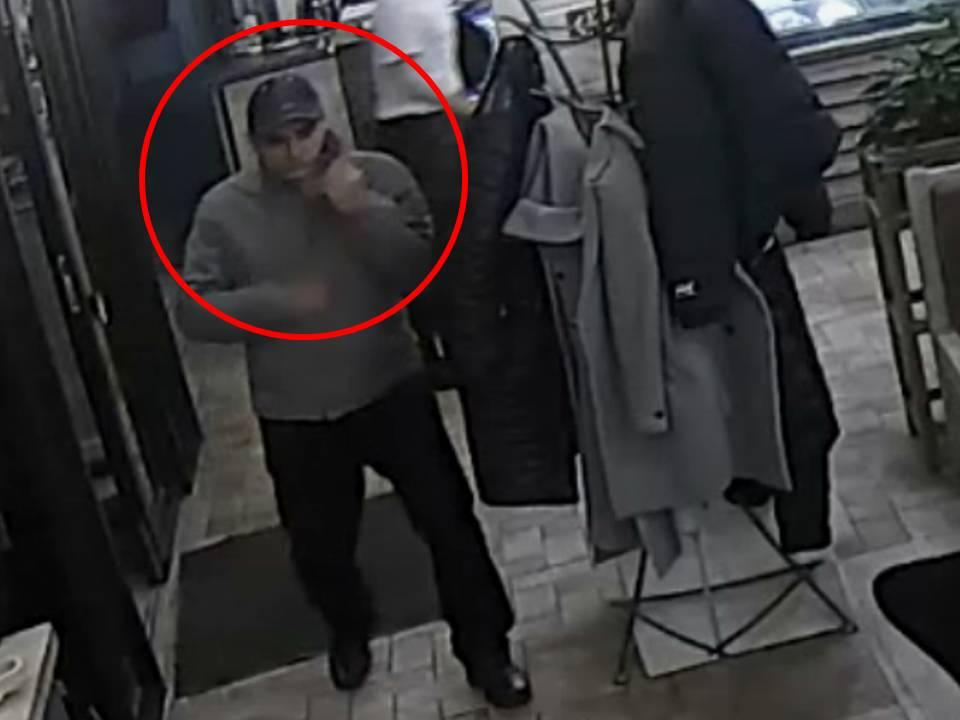 Полиция разыскивает мужчину, подозреваемого в краже кошелька (ВИДЕО)
