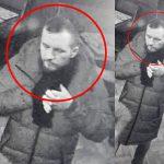 Столичная полиция просит помощи в поиске хулигана