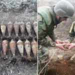 В Каушанах сапёры уничтожили целый арсенал боеприпасов