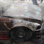 В Приднестровье машина загорелась во время движения (ФОТО)