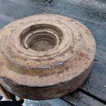 Противотанковую мину нашли на перекрестке в Тирасполе