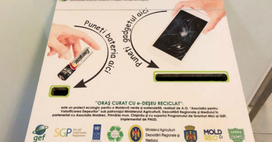 В 2018 году в Молдове собрали почти 300 тонн электронных отходов