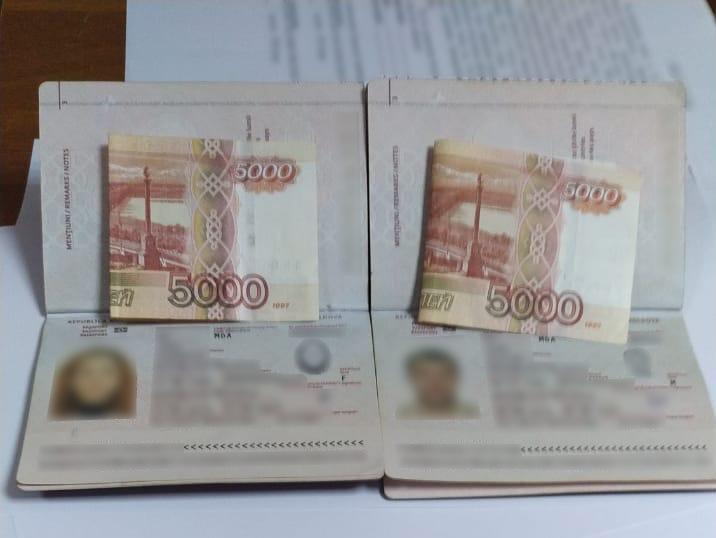 Супруги из Молдовы нарушили закон на Украине и хотели откупиться за 10 тысяч рублей
