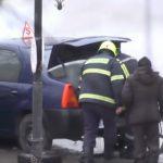 В Чимишлии загорелась машина автошколы (ВИДЕО)