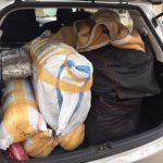 На таможне задержали два автомобиля с товаром на более чем 150 тысяч леев (ФОТО, ВИДЕО)