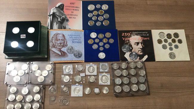 До 8 лет тюрьмы грозит молдаванину за попытку перевезти через границу коллекцию старинных монет (ФОТО)