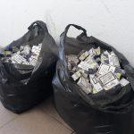 Без товара и авто: двоих жителей Унген поймали на контрабанде сигарет (ФОТО)