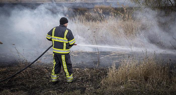 Пожарные потушили более полусотни возгораний сухой травы за последние сутки