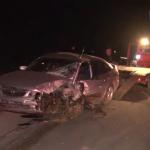 Серьёзное ДТП в Страшенах: столкнулись три автомобиля (ВИДЕО)