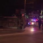 В столице мертвецки пьяный водитель спровоцировал аварию с микроавтобусом и скрылся с места происшествия (ВИДЕО)