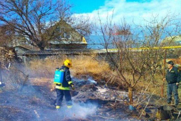 Ущерб от двух крупных пожаров в Гагаузии оценили в 16 тысяч леев