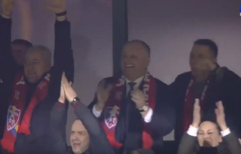 Реакция Додона на гол, забитый Молдовой в ворота Франции, попала на видео