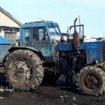 Пьяный и без прав: житель Григориополя угнал трактор, чтобы покататься