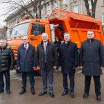 """Еще один новенький """"КАМАЗ"""" передан в пользование муниципальному предприятию в Бельцах (ФОТО, ВИДЕО)"""