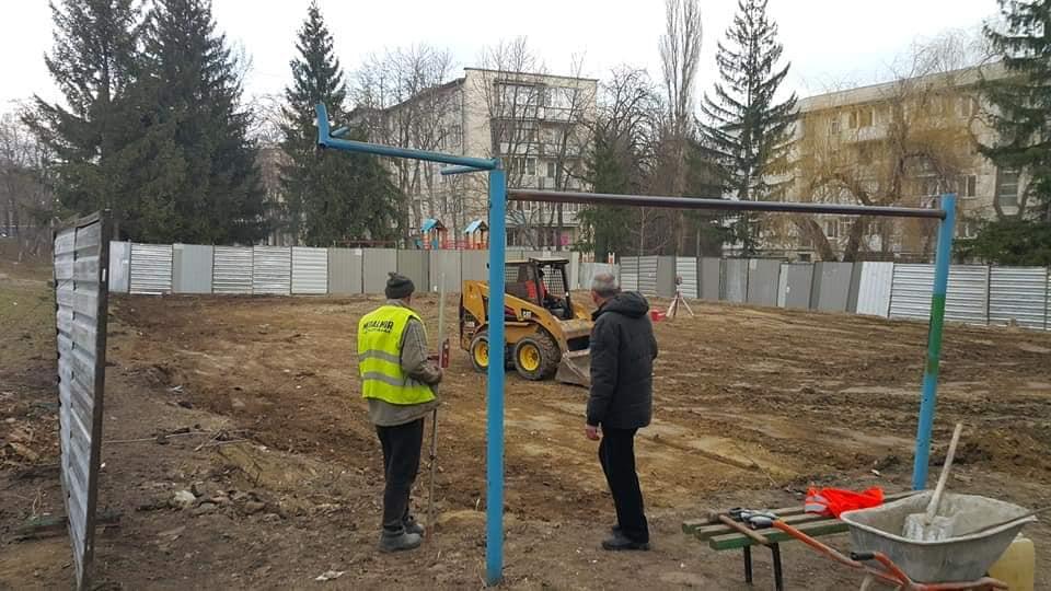 На Рышкановке стараниями социалистов появится многофункциональный спорткомплекс (ФОТО)