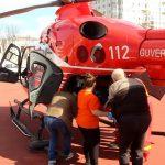 Экипаж SMURD доставил в Кишинёв пострадавшего в аварии мужчину (ФОТО, ВИДЕО)