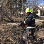Последствия непогоды: шквальный ветер повредил крыши десятков домов в нескольких районах страны