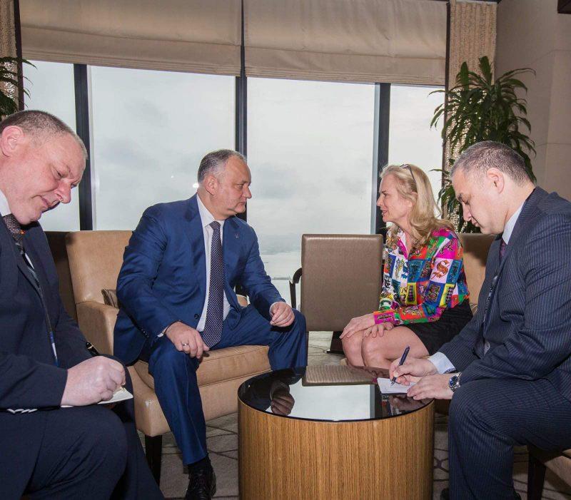 """Президент провел еще одну важную встречу """"на полях"""" форума в Баку (ФОТО, ВИДЕО)"""