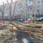 В Кишиневе полным ходом идут работы по установке еще 4 детских площадок (ФОТО)