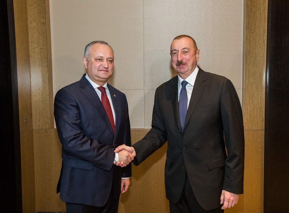 Додон пригласил Алиева в Молдову: о чем беседовали главы двух государств (ВИДЕО)
