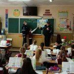 Уроки безопасности для юных пешеходов: сотрудники НИП наведались в школу (ФОТО)