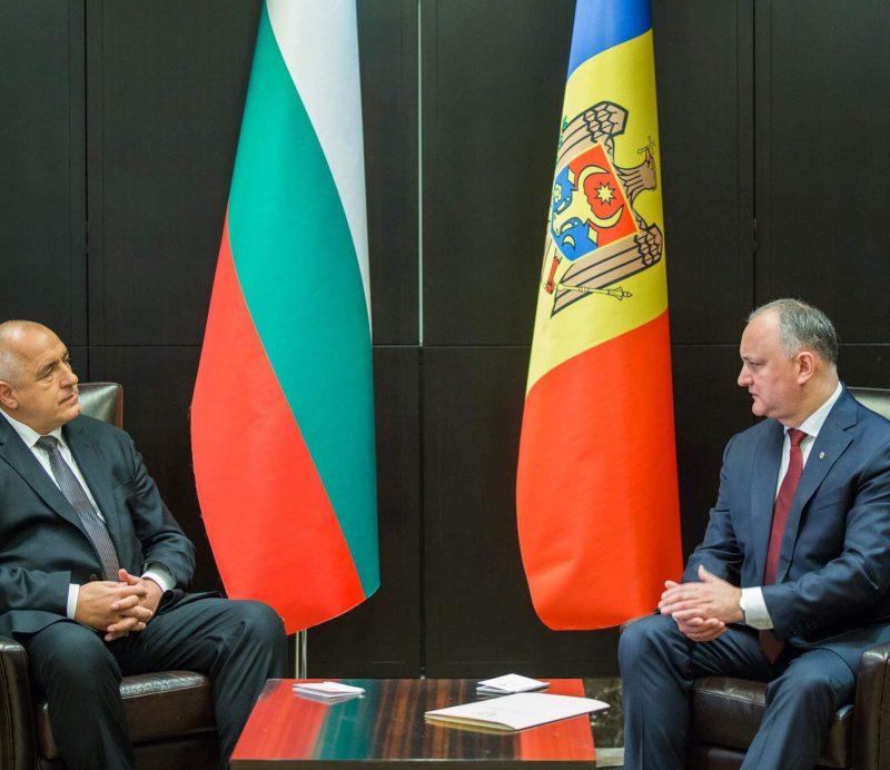 Додон обсудил важные вопросы двустороннего сотрудничества с премьер-министром Болгарии (ФОТО, ВИДЕО)