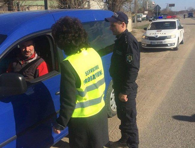 Патрульные и сотрудники Нацинспектората пробации призвали водителей не садиться пьяными за руль в рамках новой акции