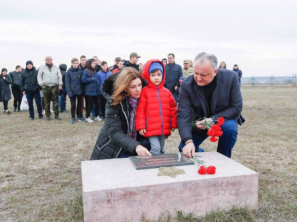 The President launched events in honor of the 75th anniversary of Moldova liberation
