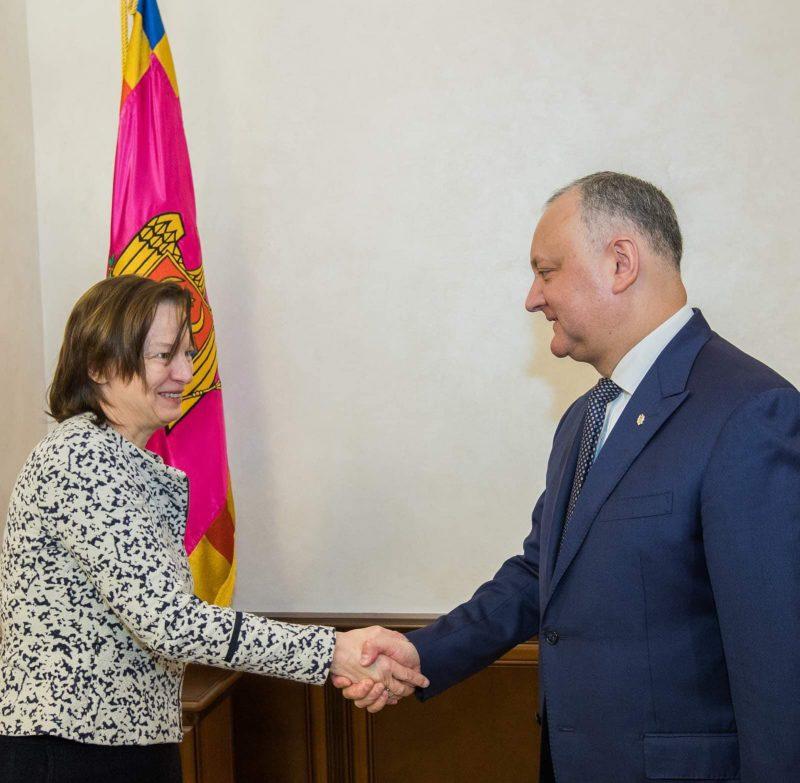 Додон обсудил внутриполитическую ситуацию в стране с послом Германии в Молдове (ФОТО, ВИДЕО)