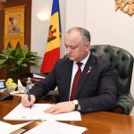 Додон поздравил Зеленского с вступлением в должность президента Украины