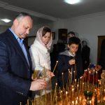 Додон: Буду прилагать все усилия для сохранения и защиты нашей веры (ФОТО)