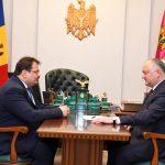 Додон обсудил текущую ситуацию в стране с главой Делегации ЕС в РМ (ФОТО, ВИДЕО)