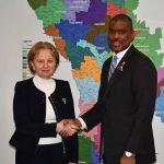 Зинаида Гречаный встретилась с послом США