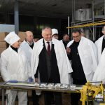 Додон посетил два местных предприятия в Купчинь (ФОТО, ВИДЕО)