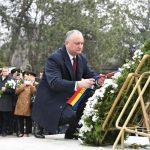 Додон: Мы должны передать память о Великой Победе нашим детям и внукам! (ФОТО, ВИДЕО)