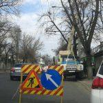 Внимание, кишинёвцы! На одной из улиц проводятся работы повышенной опасности
