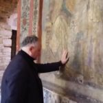 Додон помолился за Молдову и за молдавский народ на Афоне (ВИДЕО)