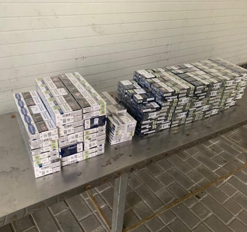 Служебные собаки помогли таможенникам пресечь попытки контрабанды сигарет (ФОТО)
