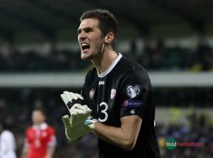 Молдавский вратарь Алексей Кошелев – в числе лучших голкиперов европейских сборных